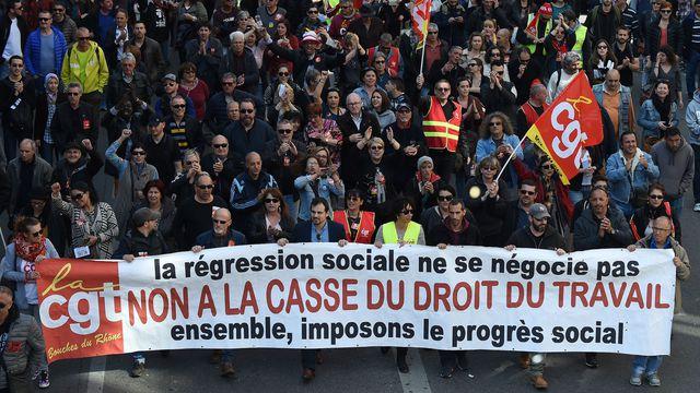 Manifestation contre la loi travail le 9 avril 2016 a paris 5588557